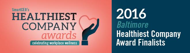 Smart CEO: Healthiest Company Award, 2016 Finalist